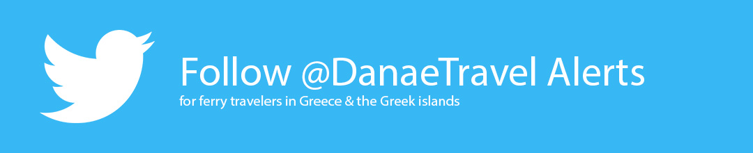 Danae travel Twitter ferry traveler alerts and warnings