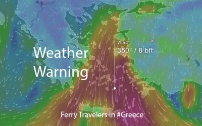 Patras to Venice ferry re-scheduled due to weather
