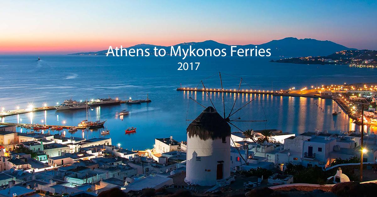 Greek Island Ferry Schedule