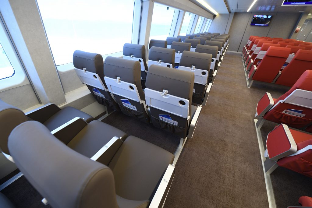 Hellenic HighSpeed Interior Economy Main Deck