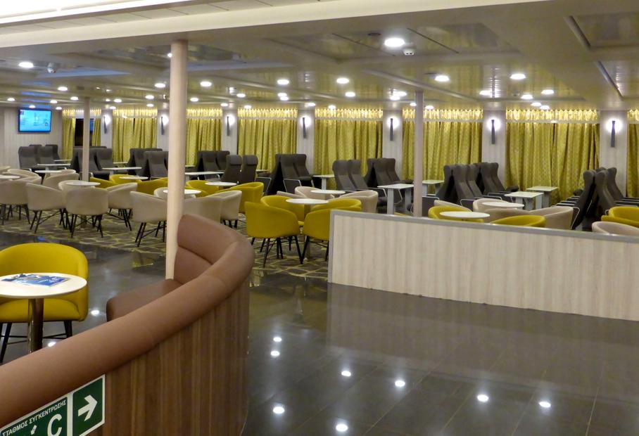 Nissos Samos Interior Economy Lounge