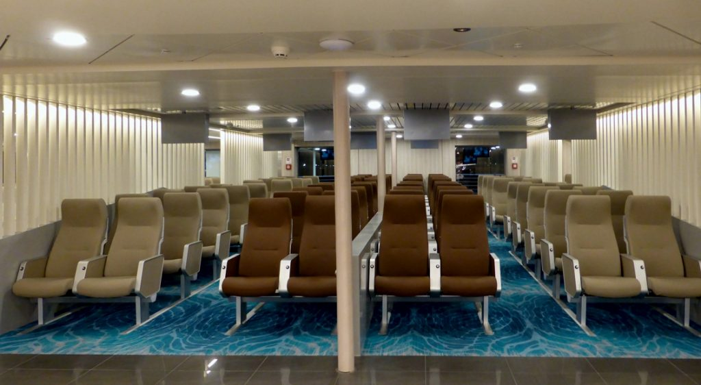 Nissos Samos Interior Economy Numbered Seats