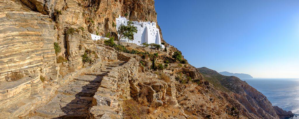 Hozoviotissa Monastery Amorgos Greece