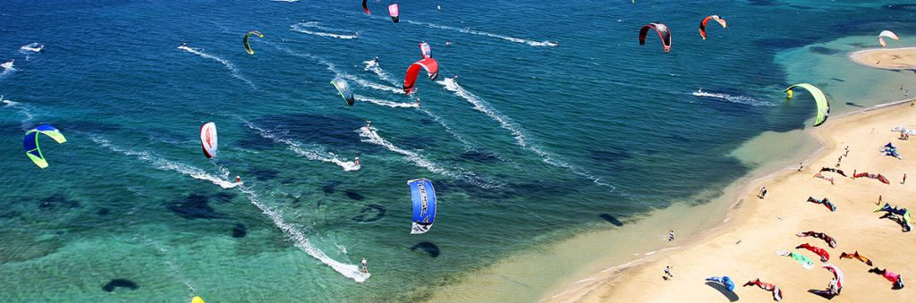 Paros Greece Kite surfing