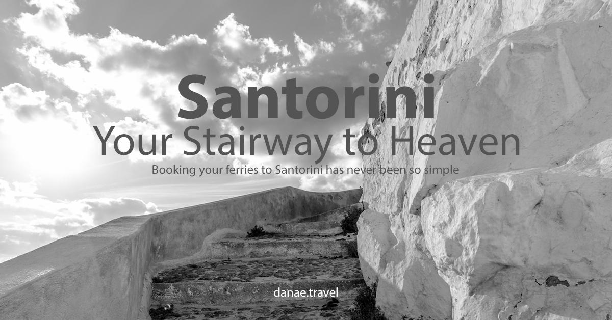 2018 Mykonos to Santorini Ferries - Danae Travel Blog