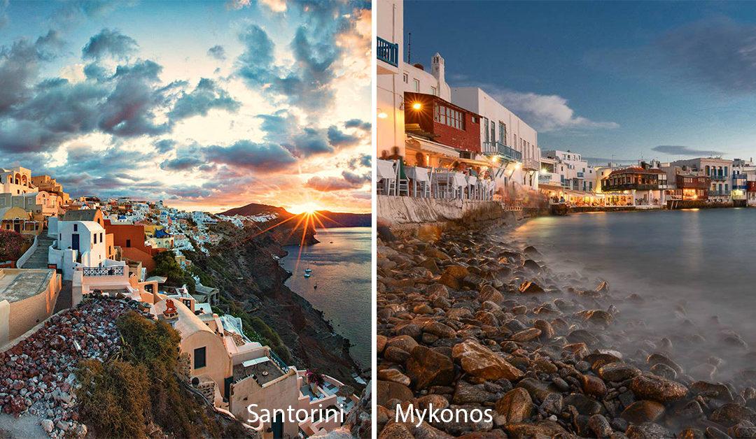 Ferries Santorini to Mykonos 2018