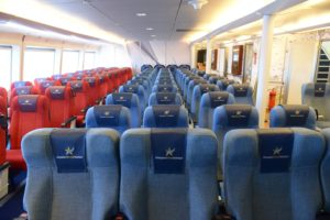 Golden Star Ferries Super Runner Interior